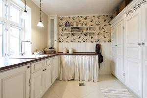 Stylish utility room
