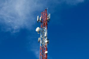 Telecomms mast